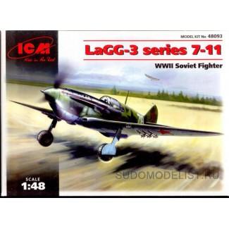 Советский истребитель ЛаГГ-3, серия  7-11