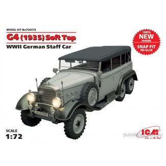 Германский автомобиль G4 (1935г) с тентом