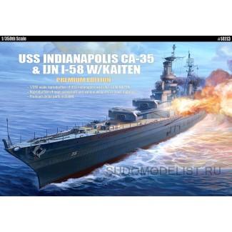 """Крейсер USS Indianapolis (CA-35) """"Premium"""""""