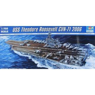 """Авианосец  CVN-71 """"Т.Рузвельт"""" 2006 г."""