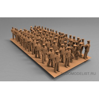 Фигурки советских моряков тип2