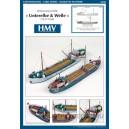 """Каботажные судна """"Unterelbe"""" и """"Welle"""" (1937/38г) WL"""