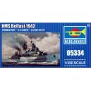 HMS Belfast 1942