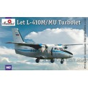 Самолет L-410 синий Аэрофлот