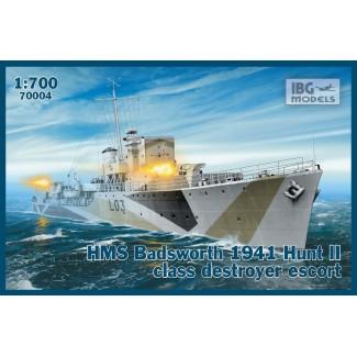 Миноносец HMS Badsworth 1941