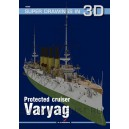 3D Protected cruiser Varyag