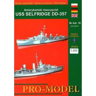 USS 'SELFRIDGE' DD-357