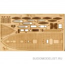 Деревянная палуба к кораблю Solferino