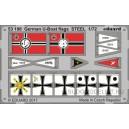ФТД Немецкие стальные флаги для U-boat