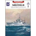 Крейсер HMS Sheffield и самолет Walrus