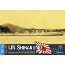 Эсминец IJN Shirakumo Destroyer, 1902
