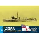 Эсминец HMS Zebra (A-class), 1900г