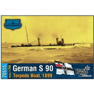 German S 90 Torpedo Boat, 1899