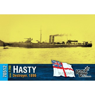 Эсминец HMS Hasty Destroyer, 1896
