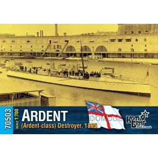 Эсминец HMS Ardent (Ardent-class) Destroyer, 1895
