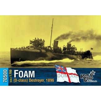 Эсминец HMS Foam (D-class) Destroyer, 1896