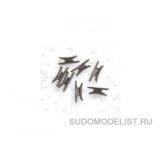 Утки, металл, 9 мм