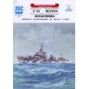 Эсминец Z32, BOLKOBURG, танкер BLEXEN
