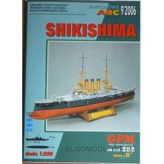 Броненосец IJN Shikishima