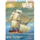 Парусник HMS Badger
