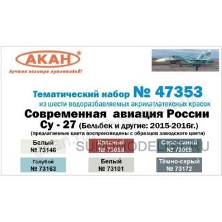 Су-27 - Бельбек и другие: 2015-2016 г.