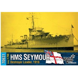 HMS Seymour Destroyer Leader, 1916