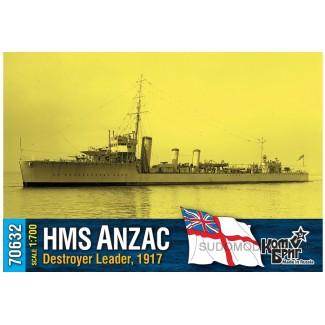 HMS Anzac Destroyer Leader, 1917