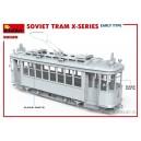 Советский трамвай серии-Х раннего типа