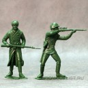 Красная армия, наб. из 2-х фигур №1