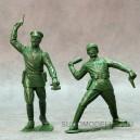 Красная армия, наб. из 2-х фигур №3