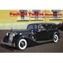 Советский автомобиль Packard Twelve с фигурами