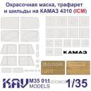 Комплект масок на ICM.35001