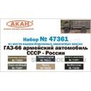 ГАЗ-66 армейский автомобиль СССР-России
