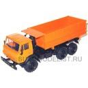 Масштабная модель Камский-55102 сельхозвариант (оранжевый)