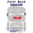 Окрасочная маска на остекление Kadett K38 (ICM)
