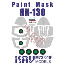 Окрасочная маска для Як-130 PROFI (Звезда)