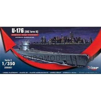 Подводная лодка GERMAN U-BOOT U-176 - IX C