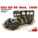 Автомобиль ГАЗ-03-30 мод. 1938 г.