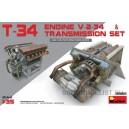 Набор двигатель и трансмиссия для Т-34 (V-2-34)