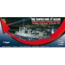 Корабль HMS Campbeltown  ST NAZAIRE,  CHARIO