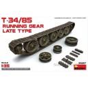 Ходовая часть для танка Т-34/85 позднего выпуска
