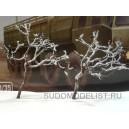 Заснеженное дерево (высота 120 мм)