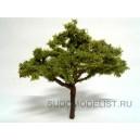 Макет дерева, сосна (ширина 80 мм, высота 90 мм)