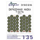 Окрасочная маска Т-34/76 (Звезда)