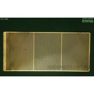 Сетки с ячейкой-шестиугольником, 0.6, 0.75, 0.9 мм (латунь 0.1 мм)
