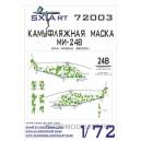 Камуфляжная маска на Ми-24В - ГСВГ