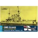 German Elsass Battleship, 1904
