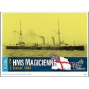 HMS Magicienne 2nd class cruiser, 1889