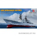 USS Spruance DD-963