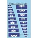 Флаг судов (катеров) Вспомогательного флота ВМФ